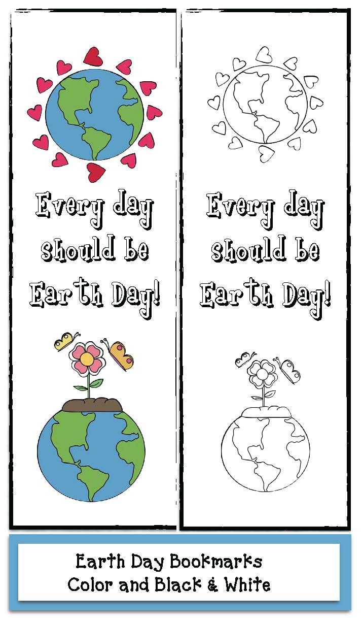 earth day activities, earth day crafts, earth day writing prompts, writing prompts for earth day, earth day bulletin boards, earth day bookmarks, earth day lessons, common core earth day,