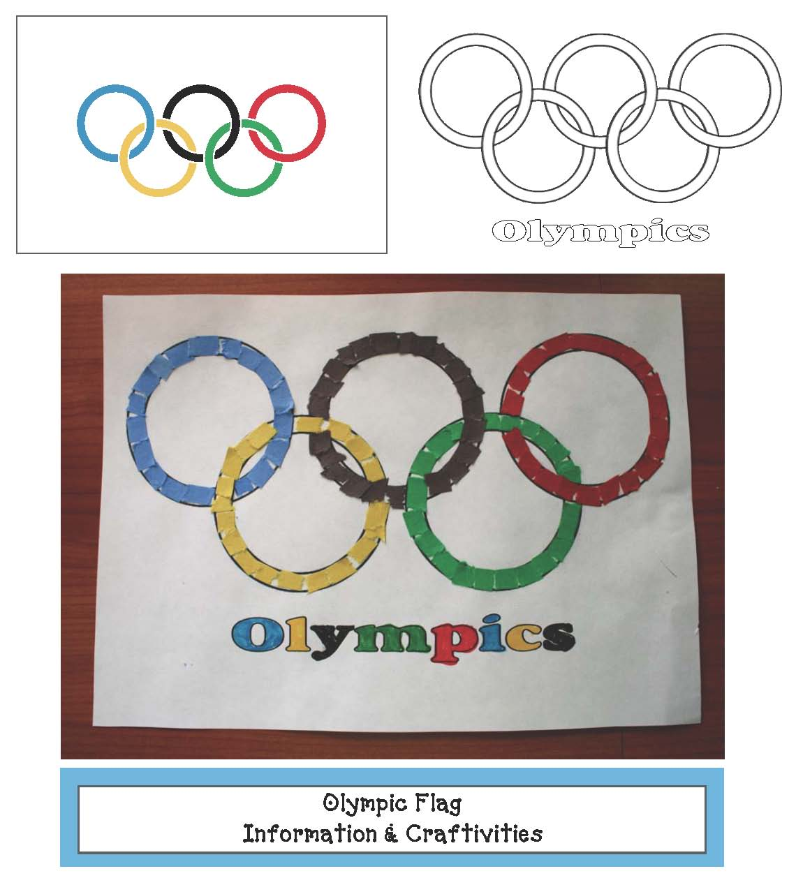 olympic activities, a list of all of the places the Olympics have been held, winter olympic activities, summer olympic activities, olympic flag crafts, olympic crafts, information about the olympics for kids, Olympic facts for kids, olympic alphabet cards, olympic centers, olympic number cards, olympic puzzles, olympic lessons, olympic reports,