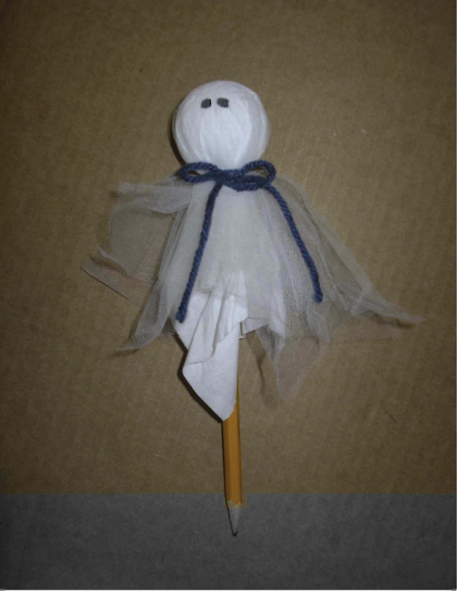 ghost pencil craft