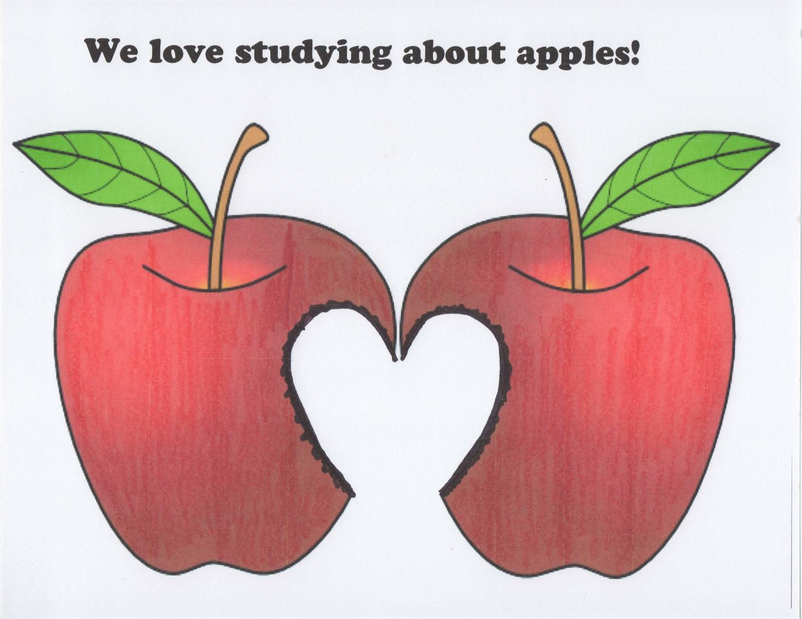 lcov ove apples poster