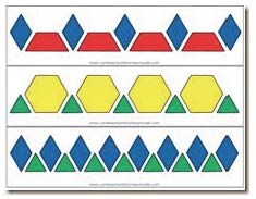 pattern blocks, pattern block activities, pattern block stickers, pattern block games, pattern block mats, 20 free pattern block mats, fractions with pattern blocks, pattern block pattern cards, pattern block alphabet cards, pattern block number cards, pattern block posters, pattern block math activities, shape activities, shape posters, traceable pattern blocks, pattern block templates