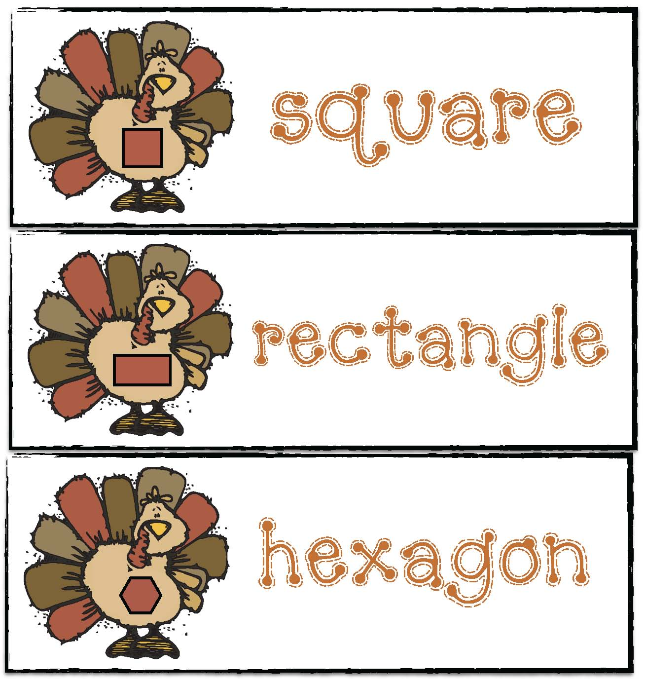 shape activities, shape crafts, 2D shape activities, common core turkeys, common core thanksgiving, thanksgiving crafts, thanksgiving games, turkey crafts, turkey games, turkey activities, keepsake crafts for kids, alphabet activities, skip counting activities, pocket chart cards with shapes,