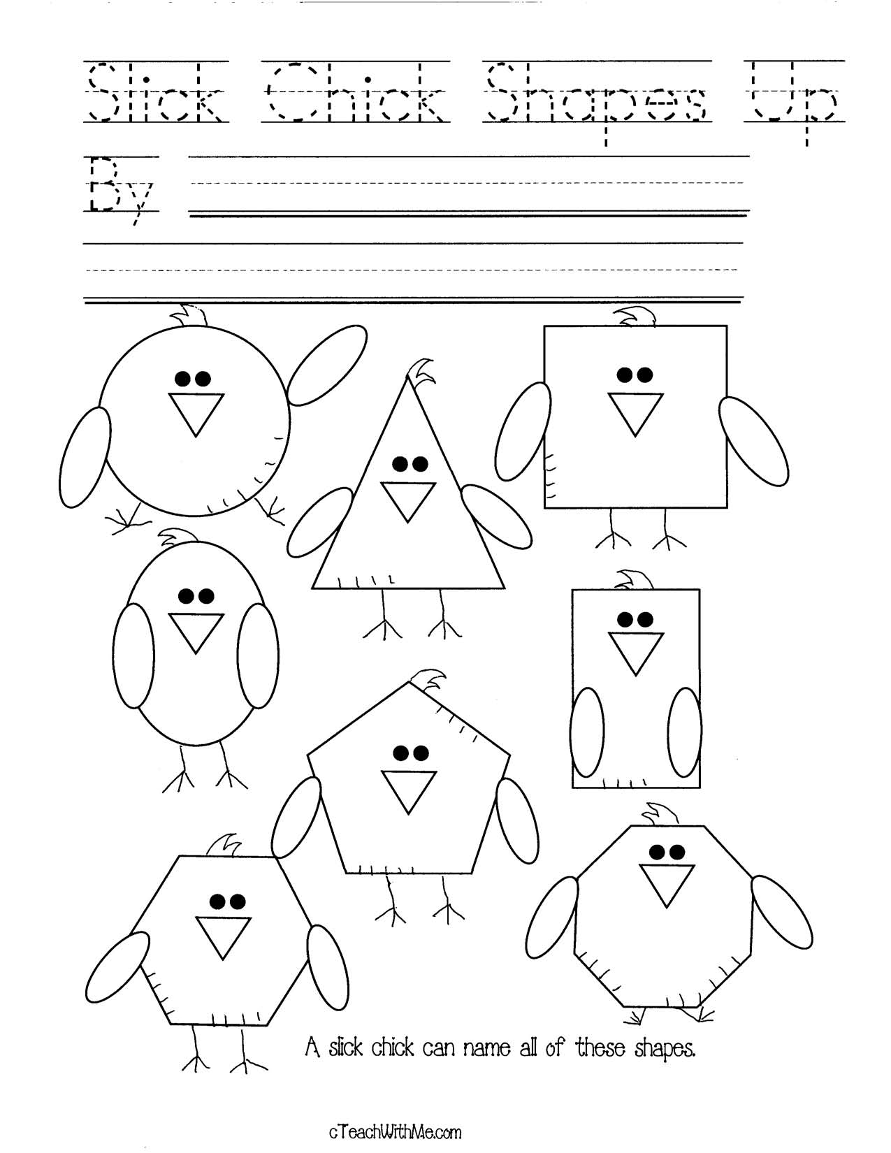 chick crafts, spring baby animal crafts, shape activities, shape crafts, 2D shape activities, 3D shape activities, pattern block activities, hexagon activities, trapezoid activities, rhombus activities, shape booklet, vertices activities, common core shapes, common core spring, spatial direction activities, shape games, shape cards, shape word activities, spring bulletin boards, shape bulletin boards