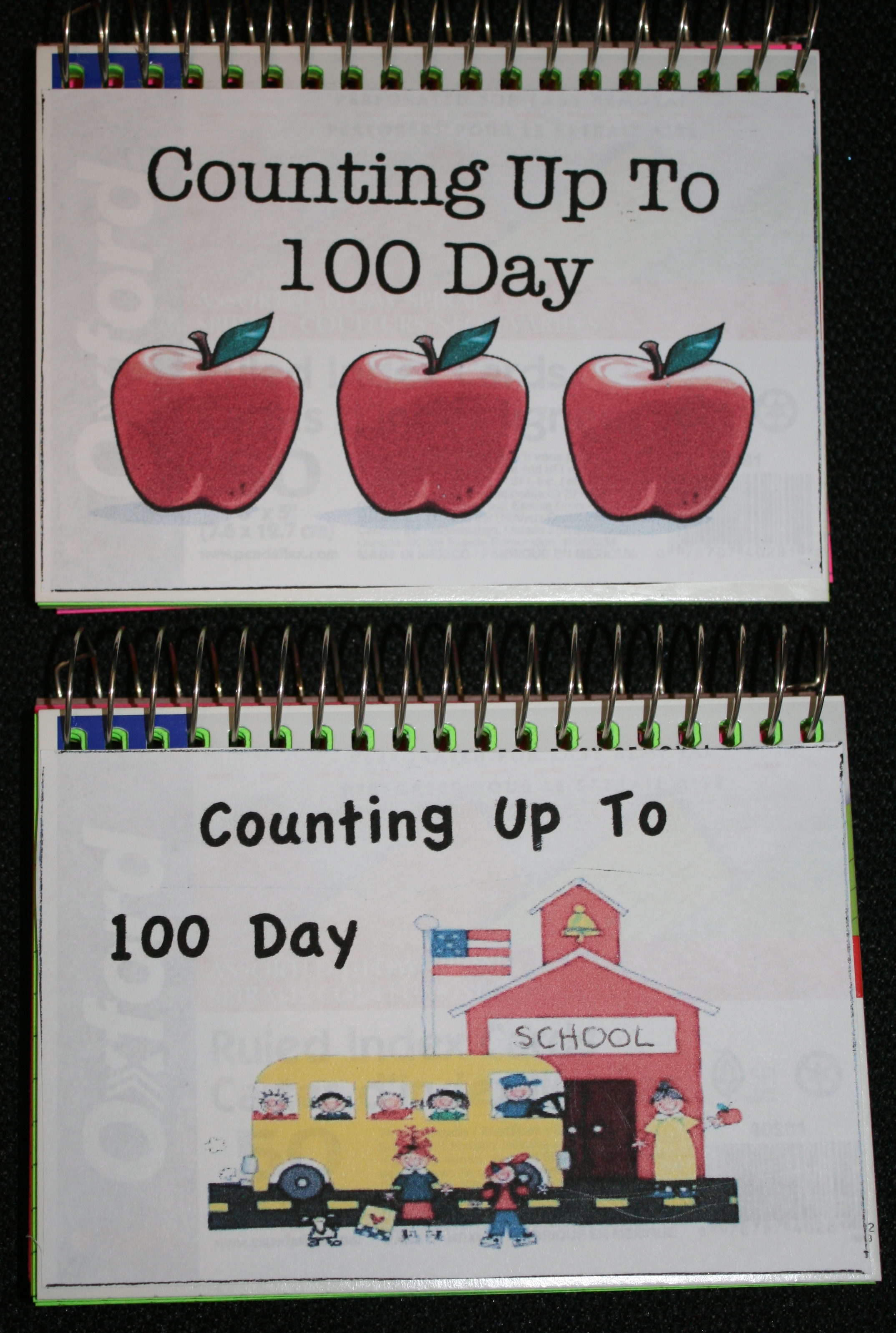 back to school ideas, ideas for the first day of school, counting up to 100 day ideas