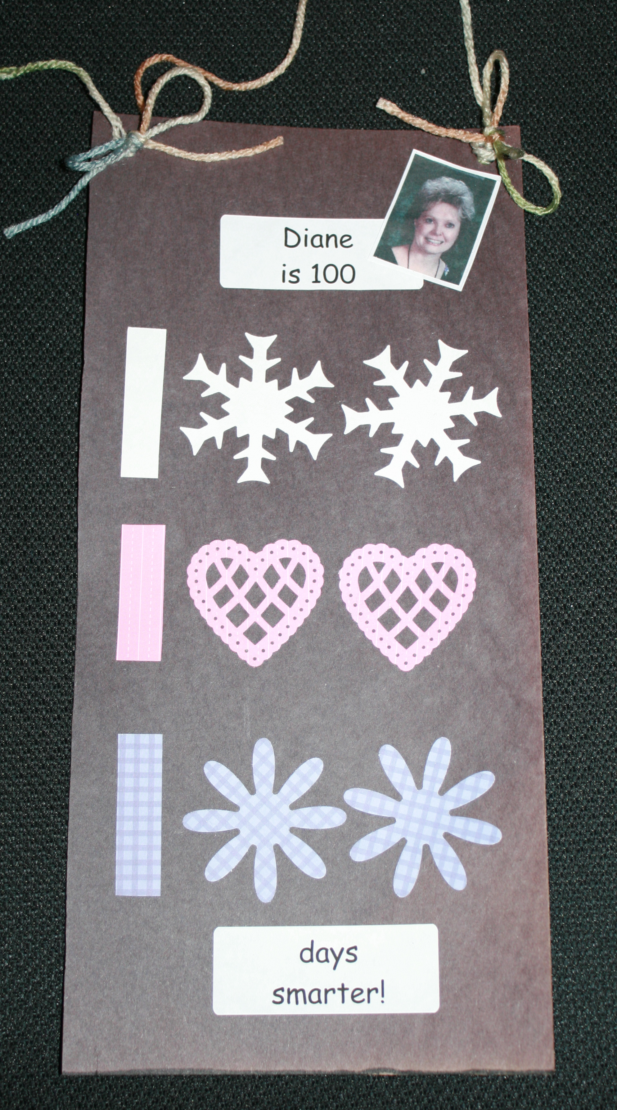 100 day banner, 100 day ideas, 100 day activities, 100 day bulletin boards, 100 day bulletin board ideas, 100 day bookmark