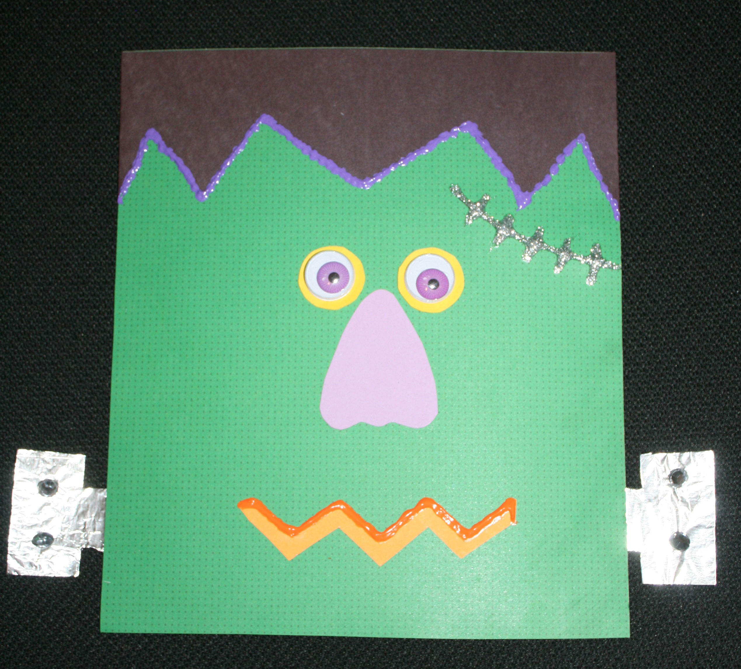 Frankenstein bag, monster ideas, monster activities, halloween ideas, halloween activities, october bulletin board ideas, halloween bulletin board ideas, glad monster sad monster ideas, glad monster sad monster activities, go away big green monster ideas, go away big green monster activities, shapes,