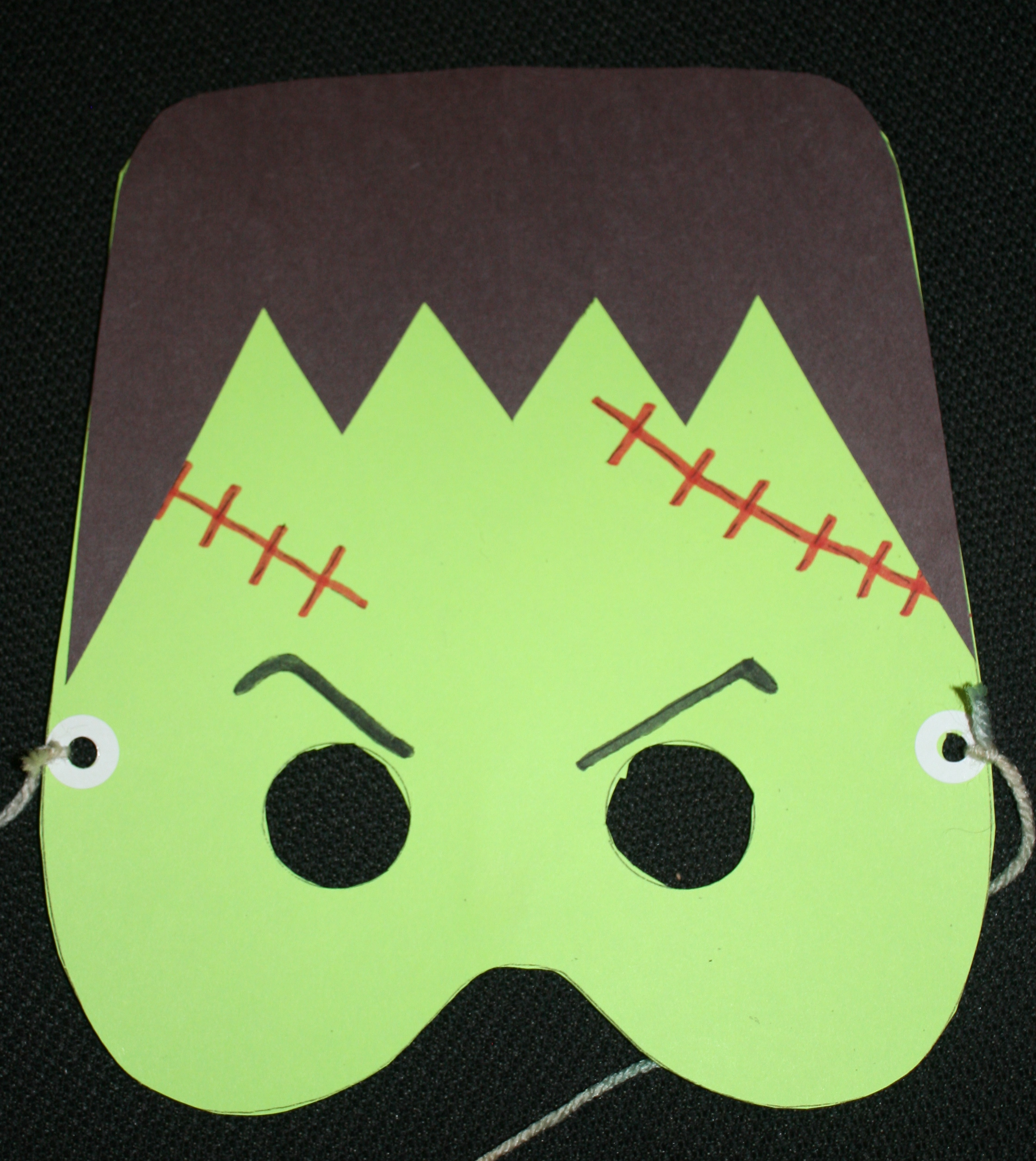 Frankenstein mask, monster mask, halloween books, monster books, october books, go away big green monster activities, sad monster glad monster activities, october activities, halloween activities,