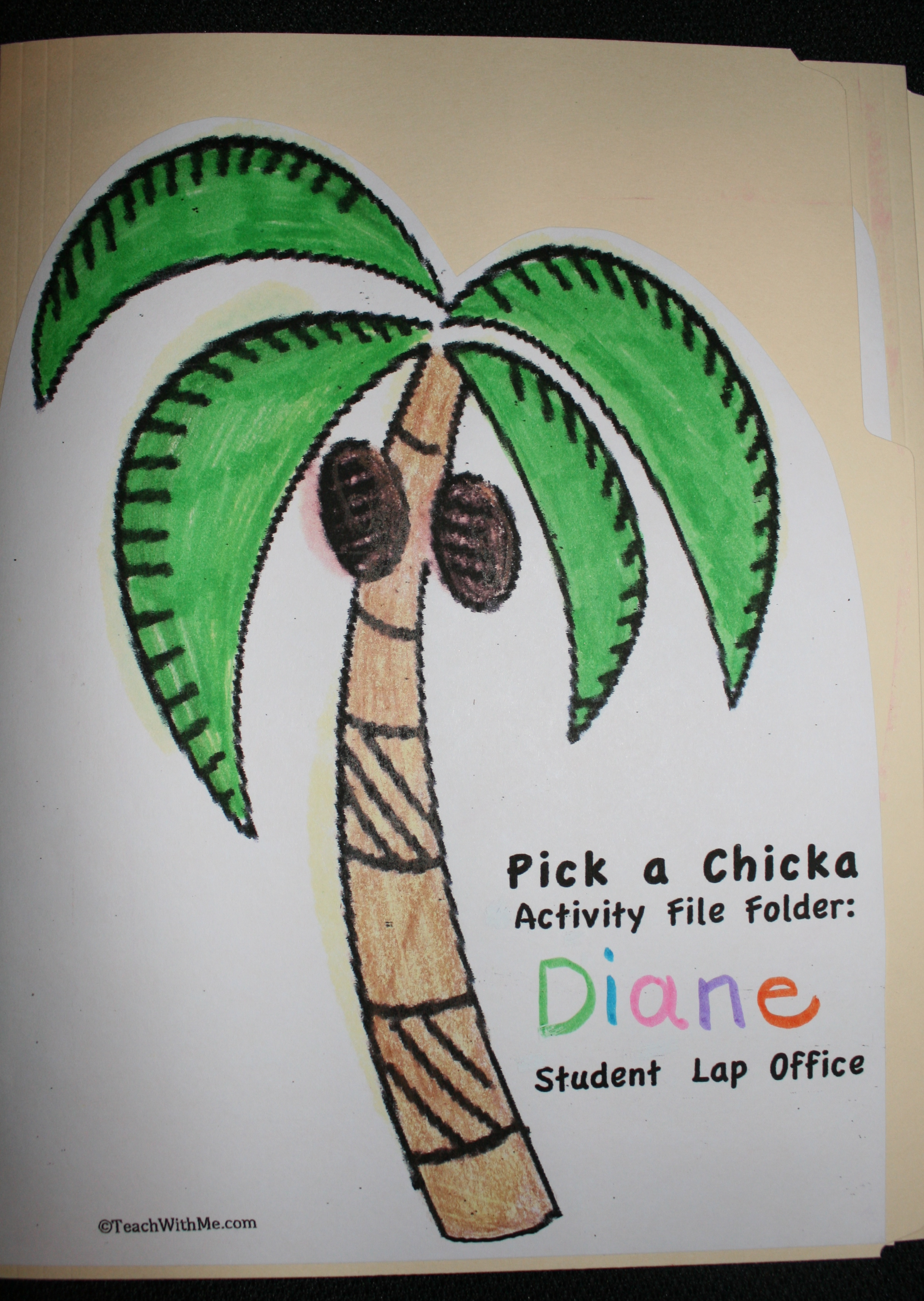 chicka boom ideas, ideas for back to school, ideas for the first day of school, lap folders, student offices, Chicka boom art projects, Chicka boom name tags,