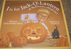 J_is_for_Jack-o-lantern, Jack O Lantern book