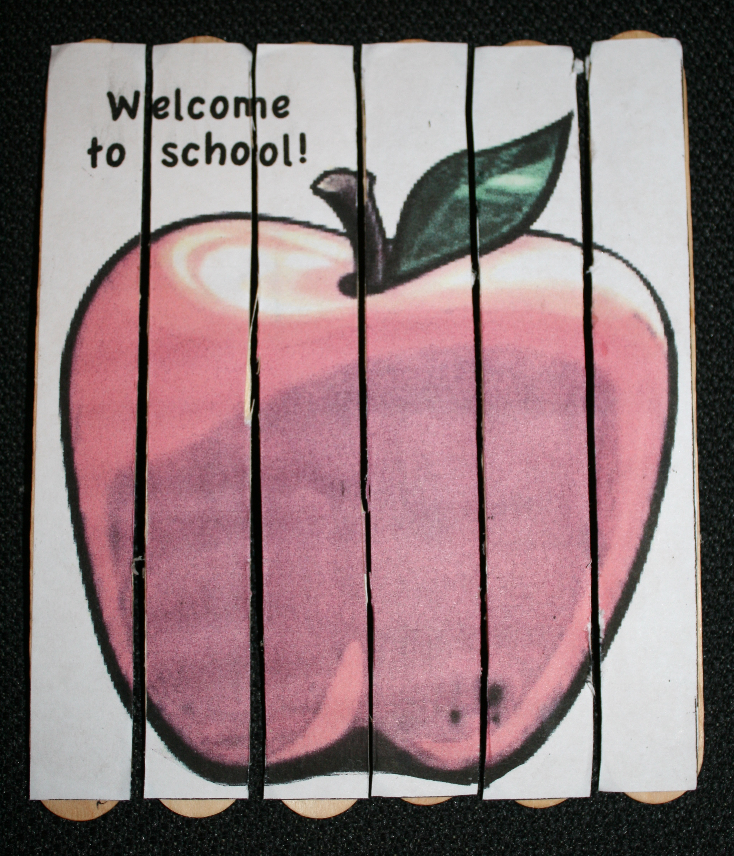 apple puzzle, apple projects, apple ideas, back to school ideas, ideas for the first day of school, Chicka boom ideas, back to school bulletin boards,