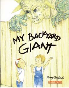 My Backyard Giant, Sunflower books, fun books to read in May, flower books