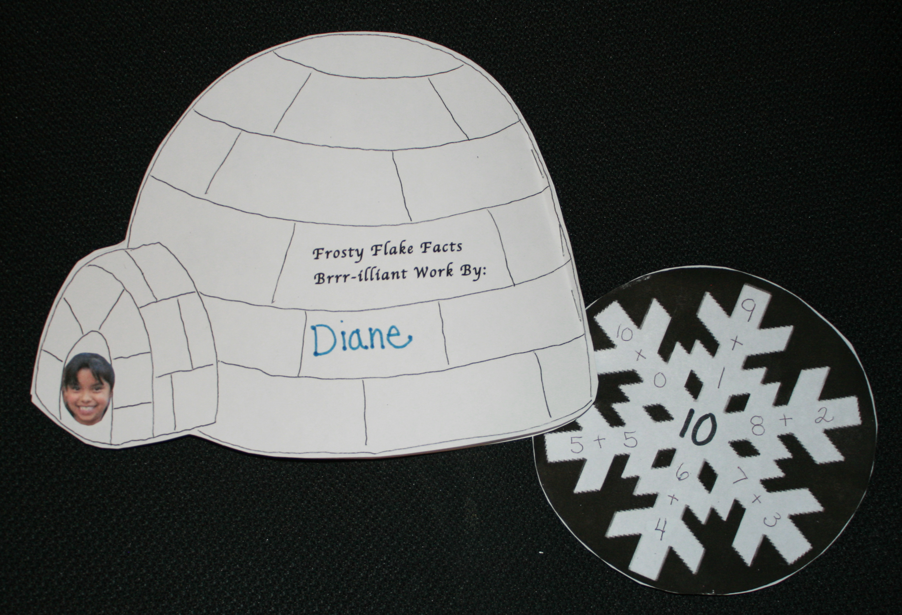 FREE common core lessons, snowflake activities, addition lessons, subtraction lessons, common core math lessons for kindergarten, common core math lessons for first grade, snowflake lessons, igloo lessons, snow lessons, snowflake activities, math centers, math booklet,