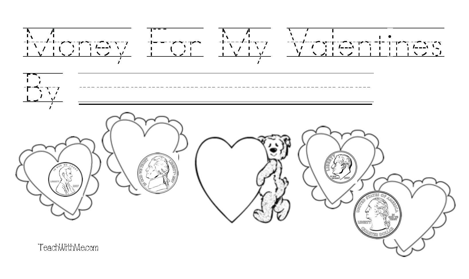 Mitten activities, free common core lessons for kindergarten, free common core lessons for 1st grade, penny nickel dime quarter activities, money lessons, coin booklet, mitten booklet, word wall words, Dolch words, Valentine's Day activities, Valentine booklet, Daily 5 activities for winter,