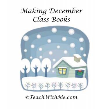 December writing prompts, winter writing prompts, writing prompts, activities to go with The Mitten, mitten activities, activities to go with The Gingerbread Man, gingerbread activities, class books, writing class books, making class books,