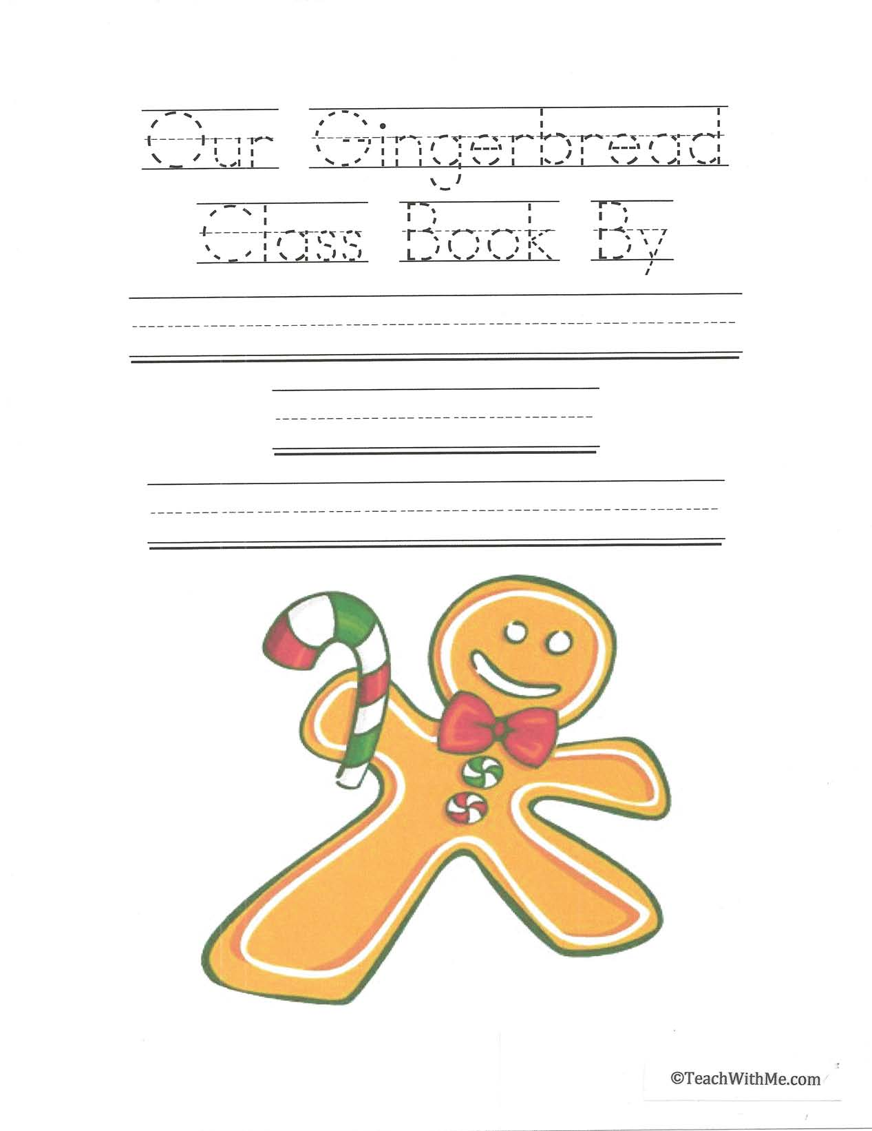 December writing prompts, gingerbread writing prompts, mitten writing prompts, activities to go with The Mitten, mitten activities, activities to go with the story The Gingerbread Man, writing class books, class books, writing prompts,