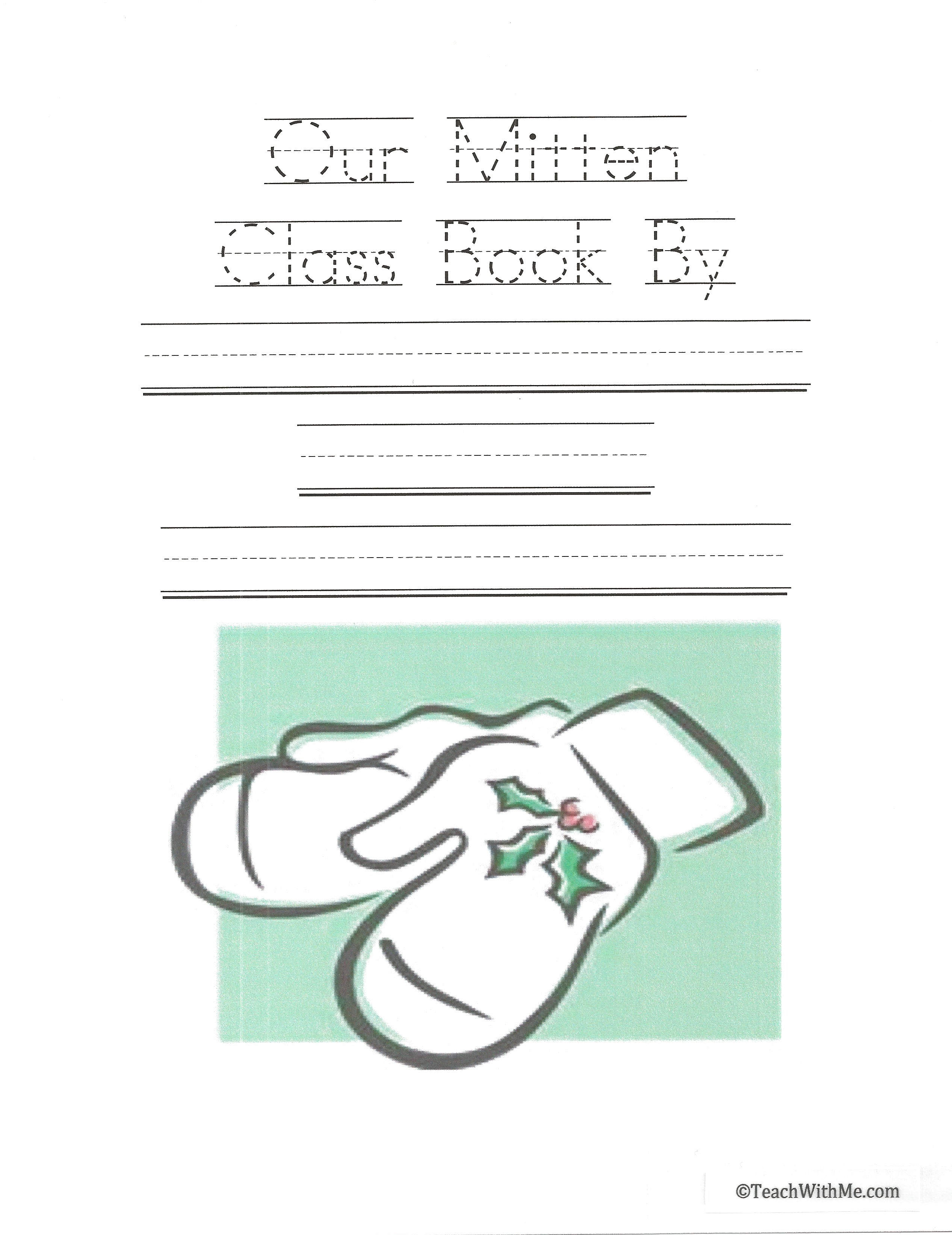 activities to go with The Mitten, Mitten activities, writing prompts for December, writing class books, gingerbread activities, mitten writing prompts, gingerbread writing prompts, activities to go with The Gingerbread Man story,