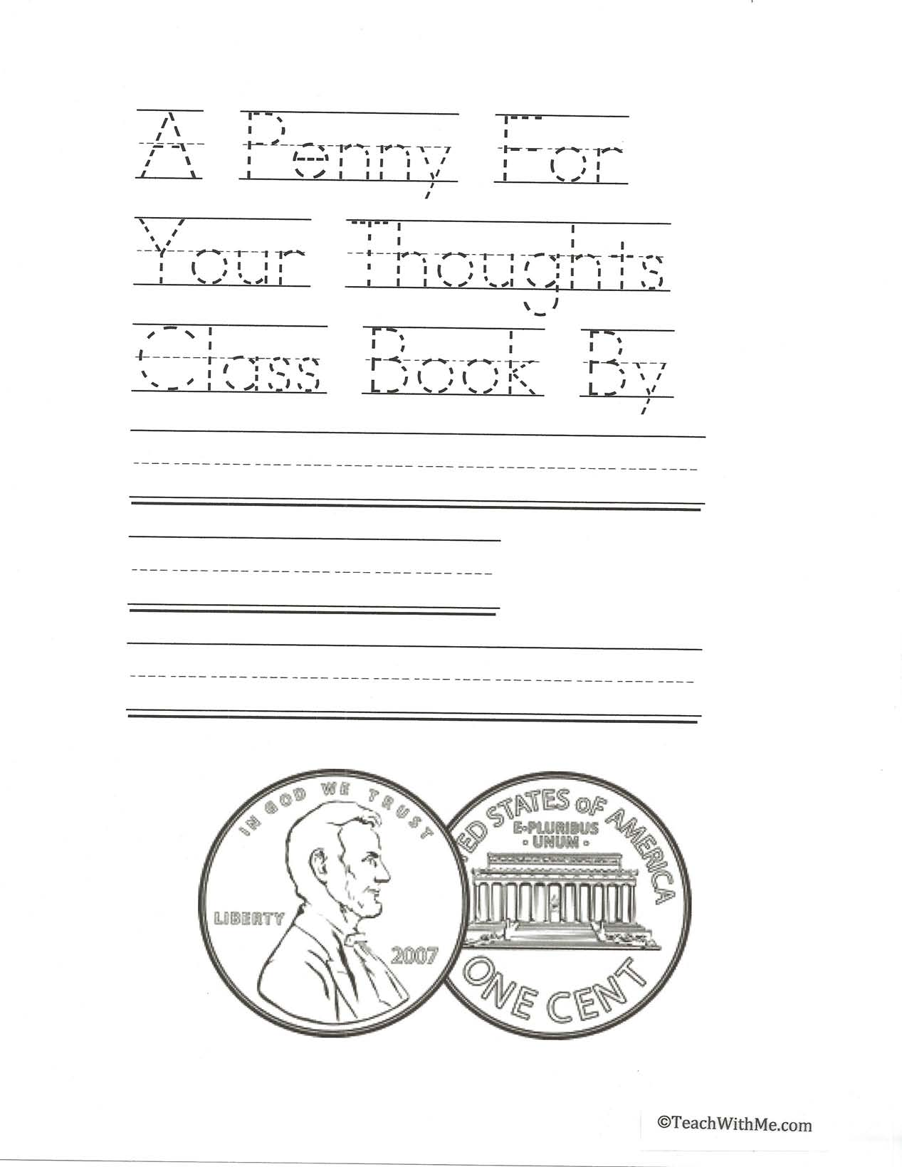 presidents day activities, presidents day ideas, presidents day booklet, presidents day writing prompts, lincoln activities, lincoln lessons, penny activities, penny booklet, penny lessons, money lessons, money activities, coin lessons, coin activities,
