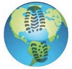 earth day activities, earth day writing prompts, earth day bulletin boards, a list of activities students can do to help the earth, how to reduce your carbon footprint, carbon footprint writing prompt, carbon footprint crafts, carbon footprint activities, earth day crafts,