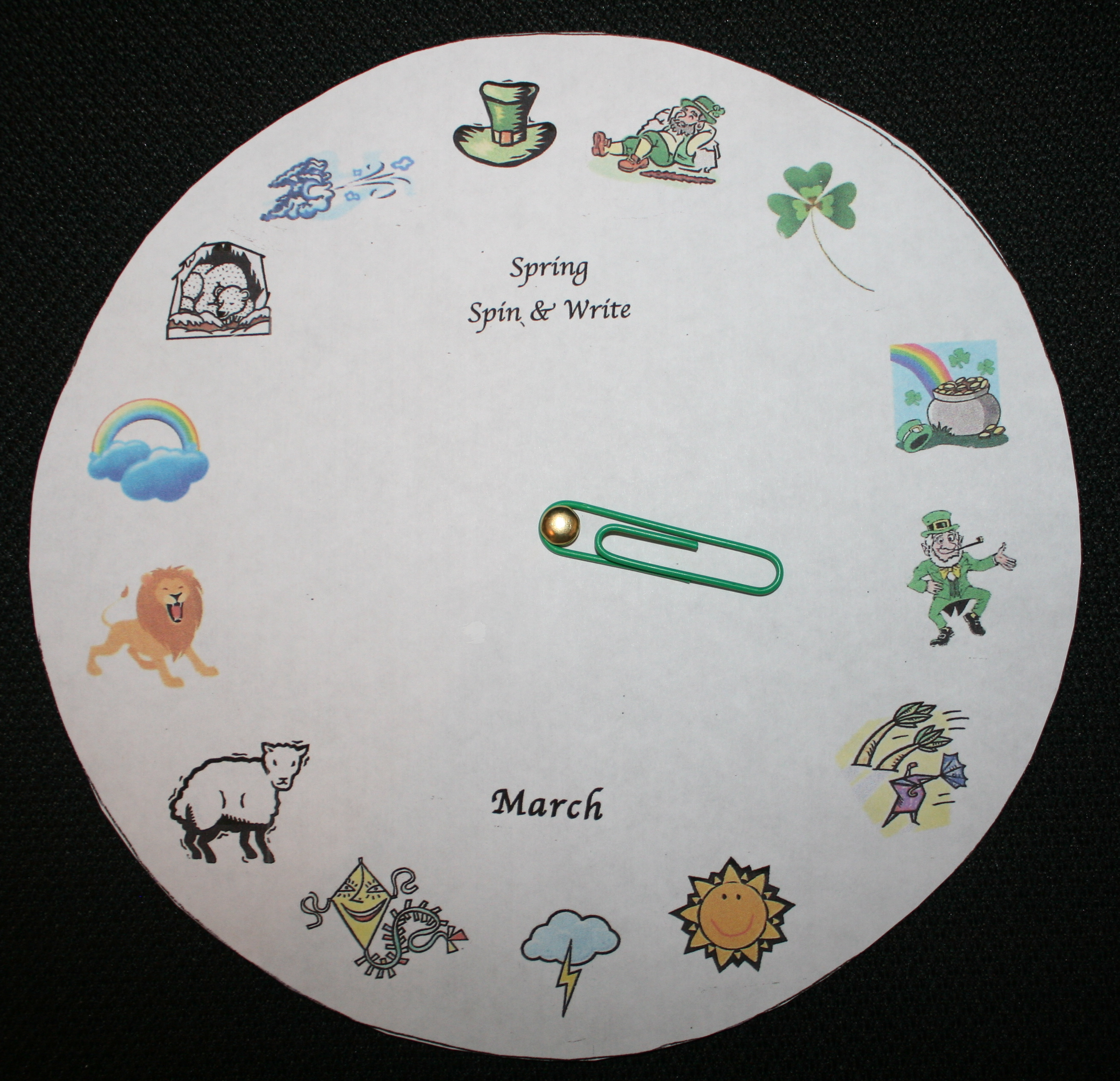 march writing prompts, april writing prompts, may writing prompts, summer writing prompts, story wheels, daily 5 ideas, activities for daily 5, writing center ideas, activities for writing centers,