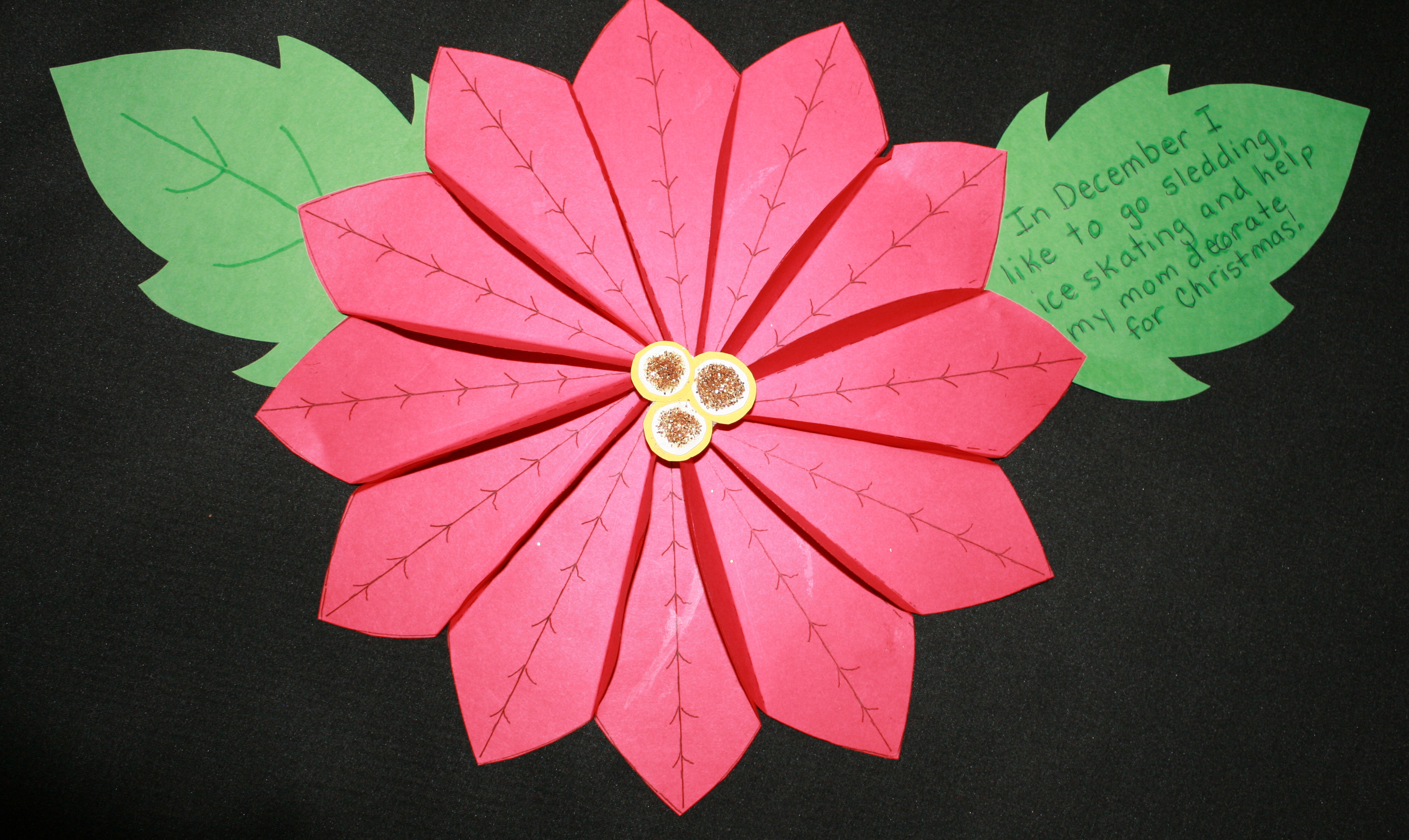 December bulletin boards, December bulletin board ideas, winter bulletin boards, poinsettia bulletin board, Mexican bulletin board, writing bulletin board, December writing prompts, winter bulletin boards