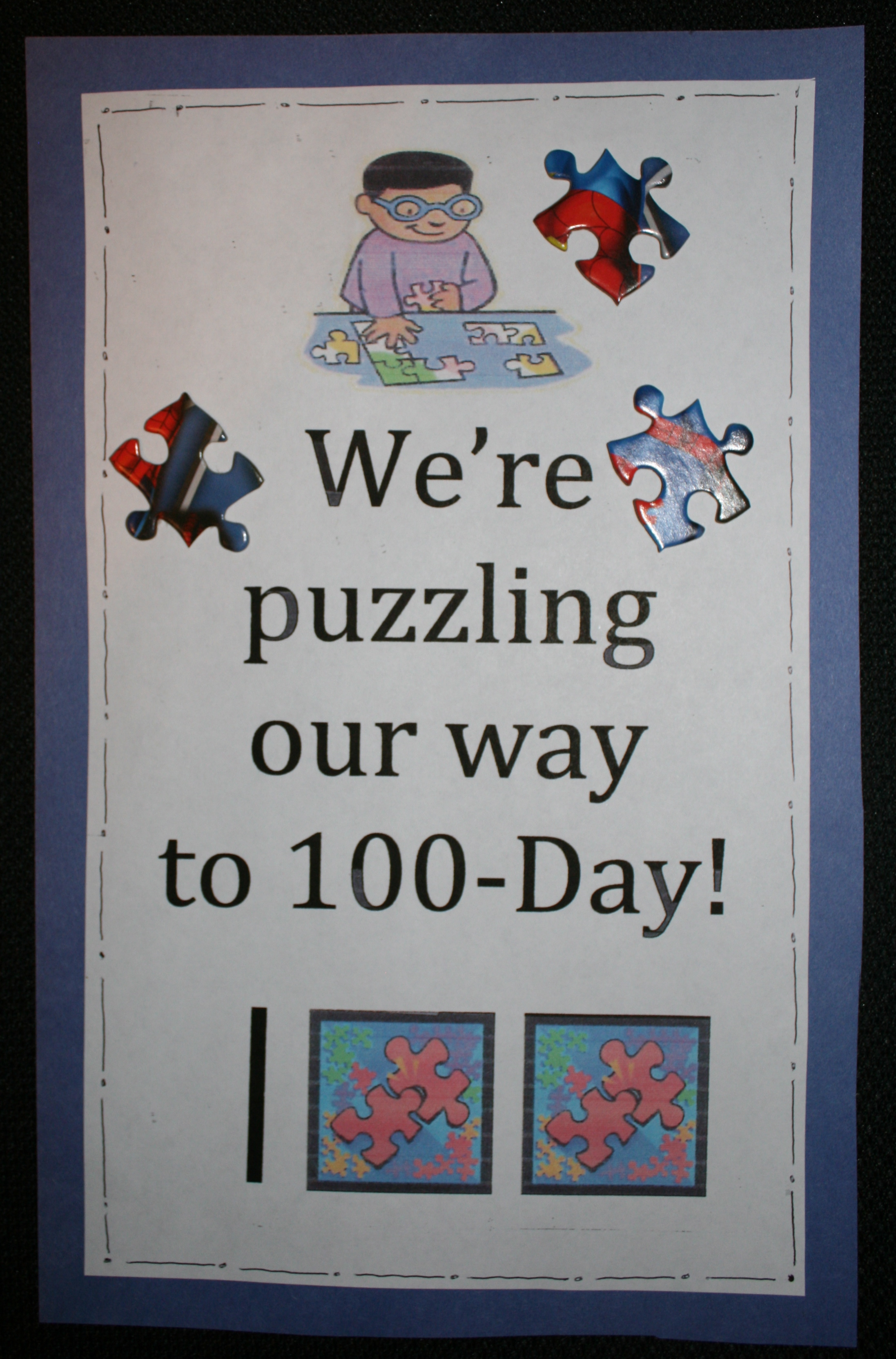back to school ideas, ideas for the first day of school, ideas for counting to 100 day
