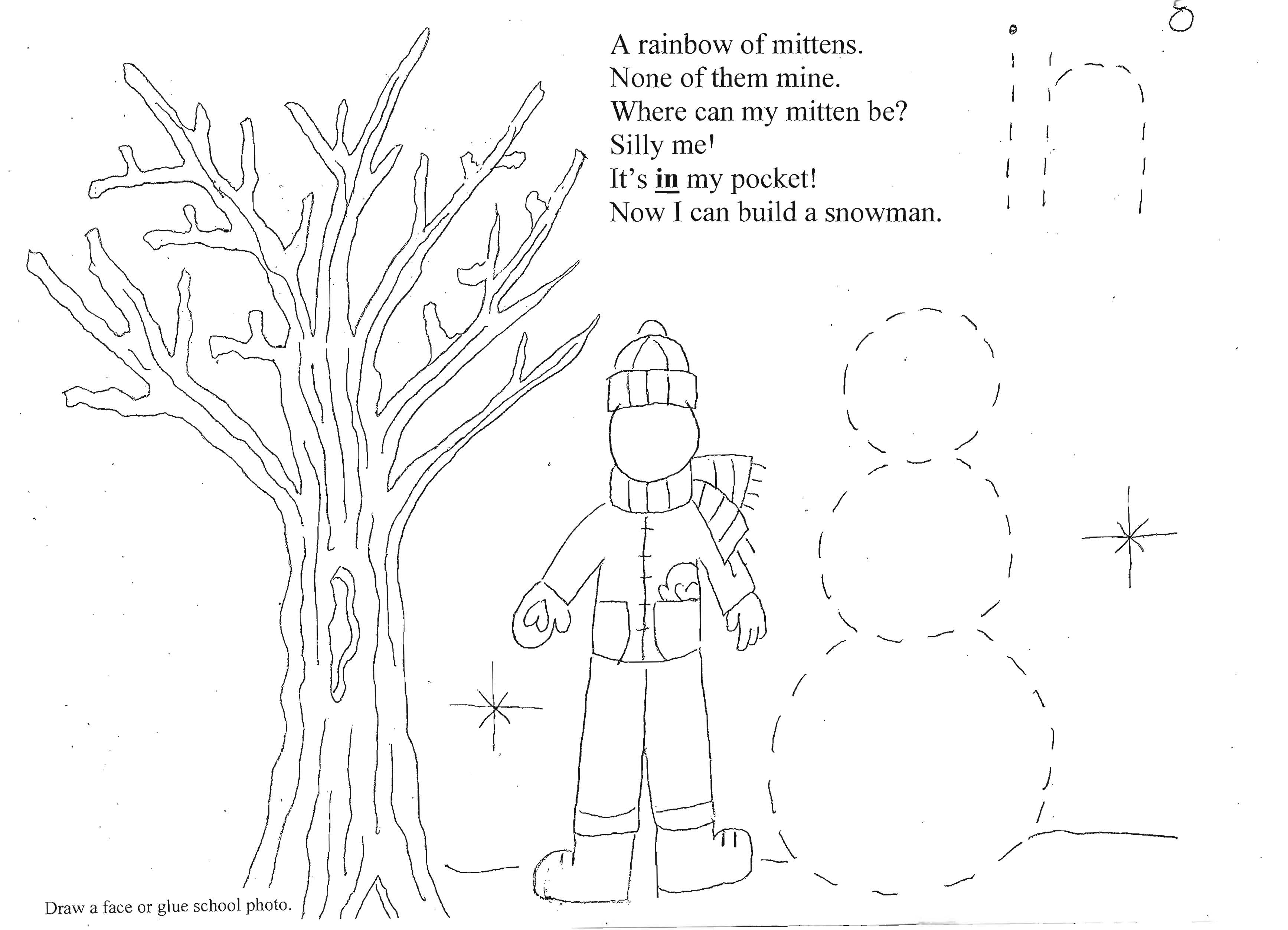 FREE common core lessons for kindergarten and first grade, mitten activities, Daily 5 activities for December, Daily 5 word work activities, mitten lessons, color word activities, easy readers, color word flashcards, mitten games,