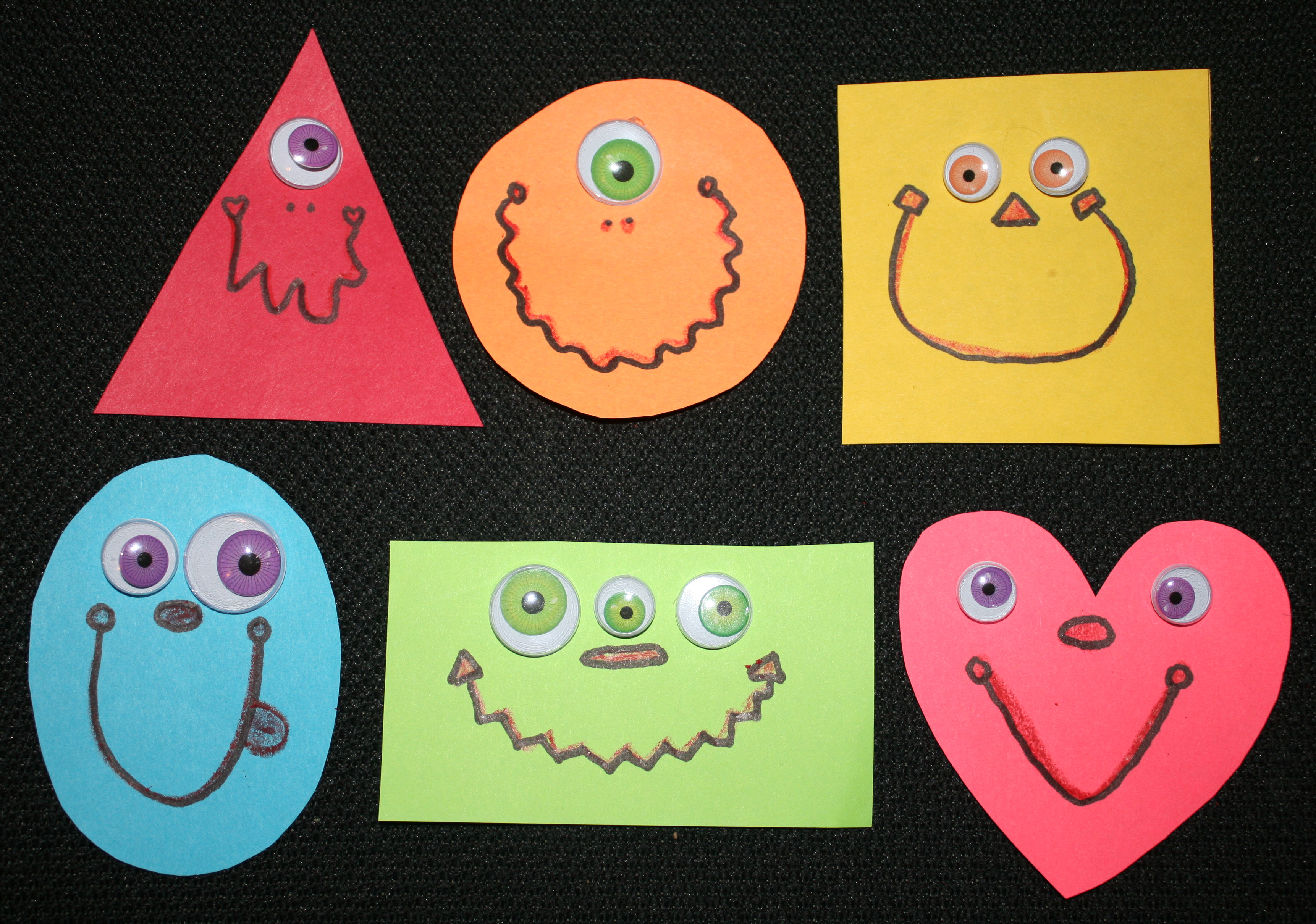 shape monsters, monster ideas, monster activities, halloween ideas, halloween games, halloween activities, october books, monster books, glad monster sad monster ideas, glad monster sad monster activities, go away big green monster ideas, go away big green monster activities, monster snacks,