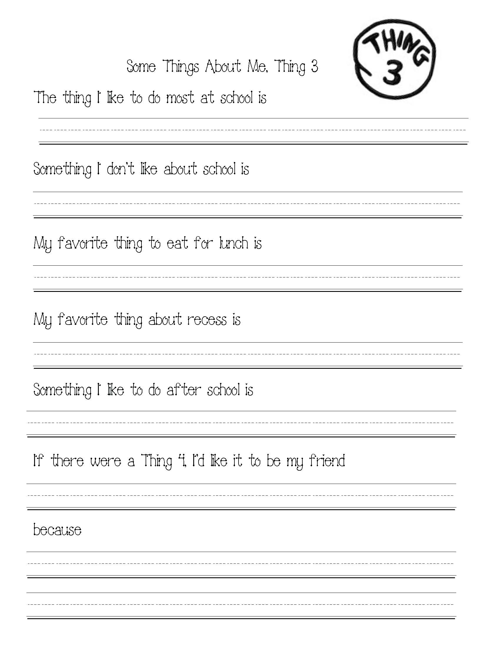seuss activities, cat in the hat activities, Thing 1 and Thing 2 activities, writing prompts for March, Seuss writing prompts, seuss crafts, thing 1 and thing 2 crafts,
