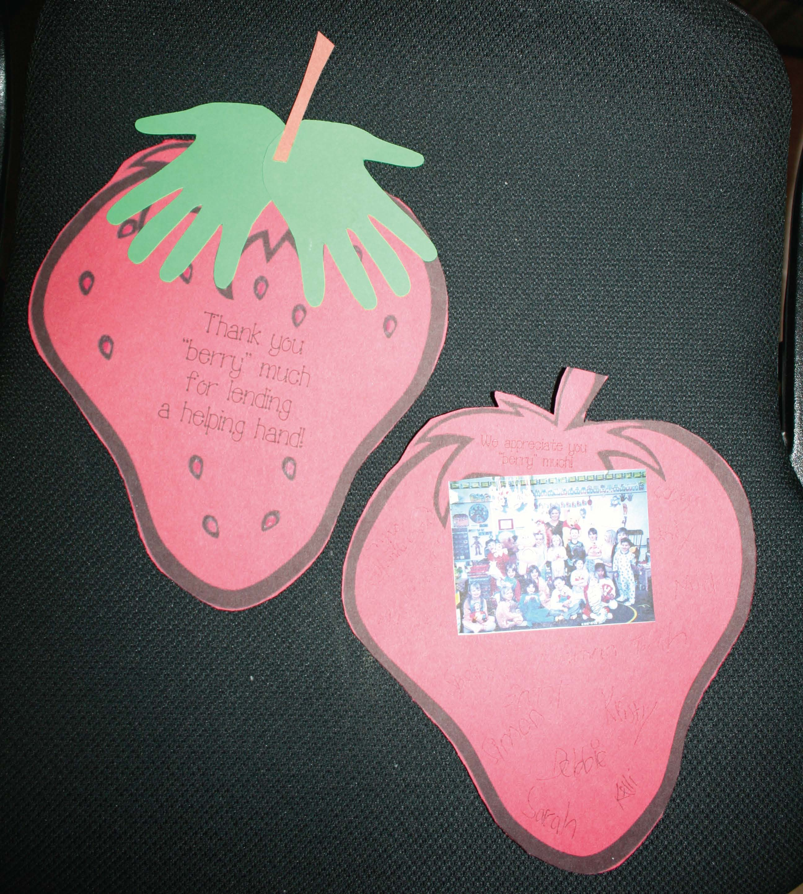 strawberry crafts, activities for the last week of school, activities for the last day of schoo, thank you cards for volunteers, thank you gifts for secretaries, thank you gifts for student teachers, mothers day activities, mothers day crafts, mothers day cards, fathers day cards, fathers day activites, fathers day gifts.