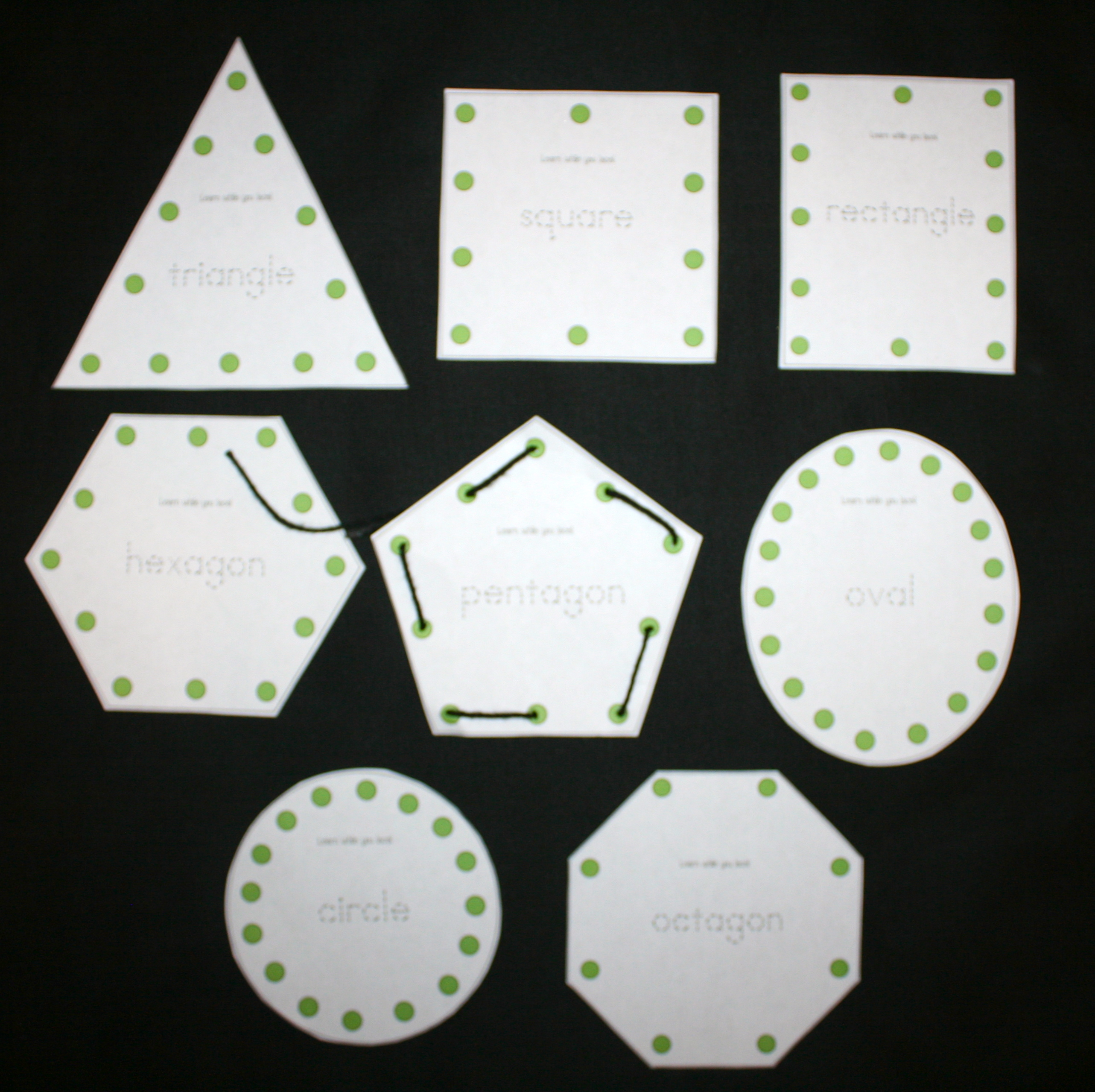 lacing, free lacing cards, 2D shapes, 2D shape activities, 2D shape lessons, shapes, hexagon lessons, octagon lessons, pentagon lessons, shape crafts, shape centers, shape games, circle triangle rectangle square oval shape activities, ,