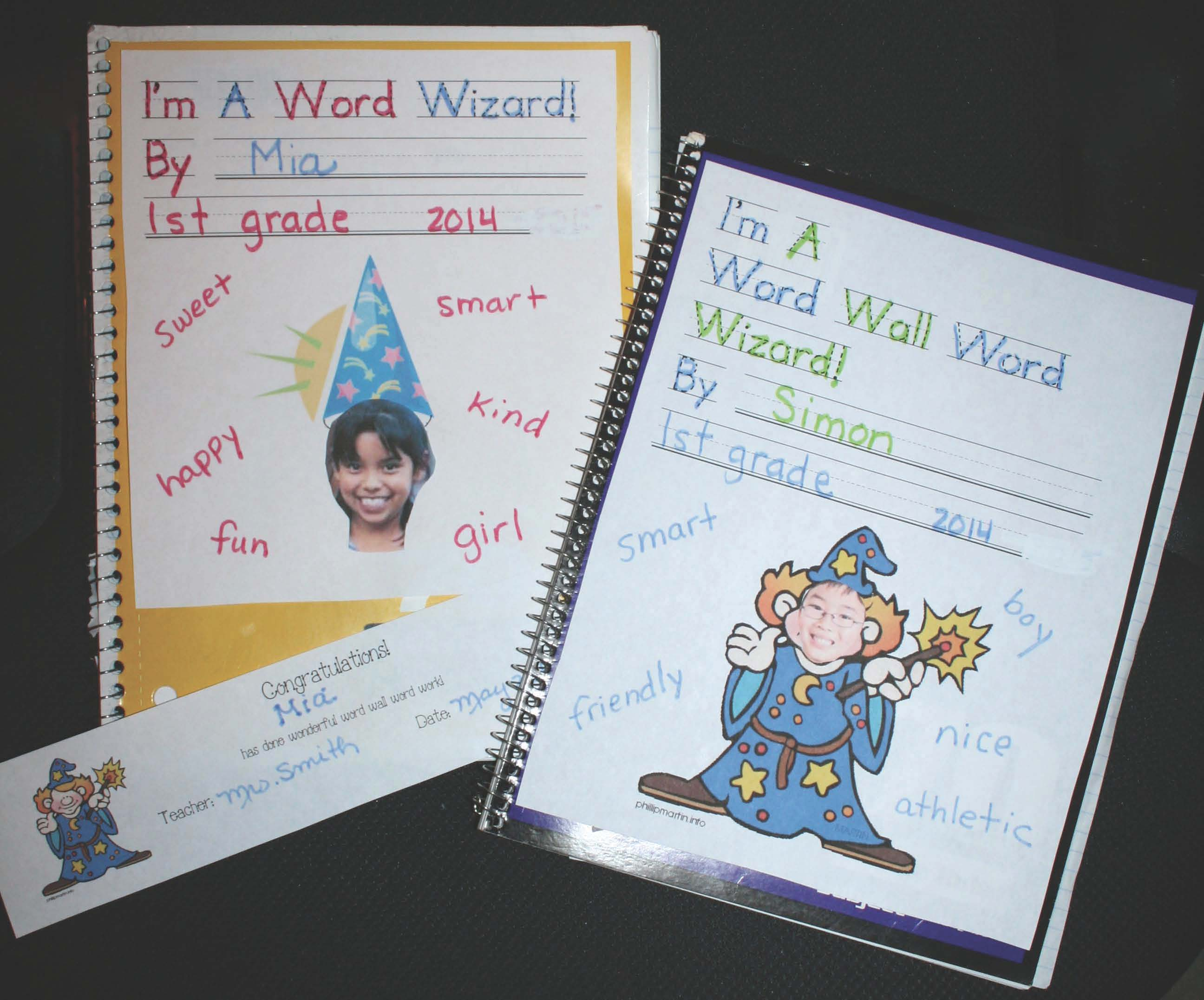 word wizards, writing notebooks, word wall words, word wall activities, dolch words, cvc words, daily 5 word work, daily 5 activities, vocabulary building activities, writing centers, ccss for kindergarten, ccss for 1st, common core vocabulary, common core word wall words, free common core for 1st, free common core lessons for kindergarten