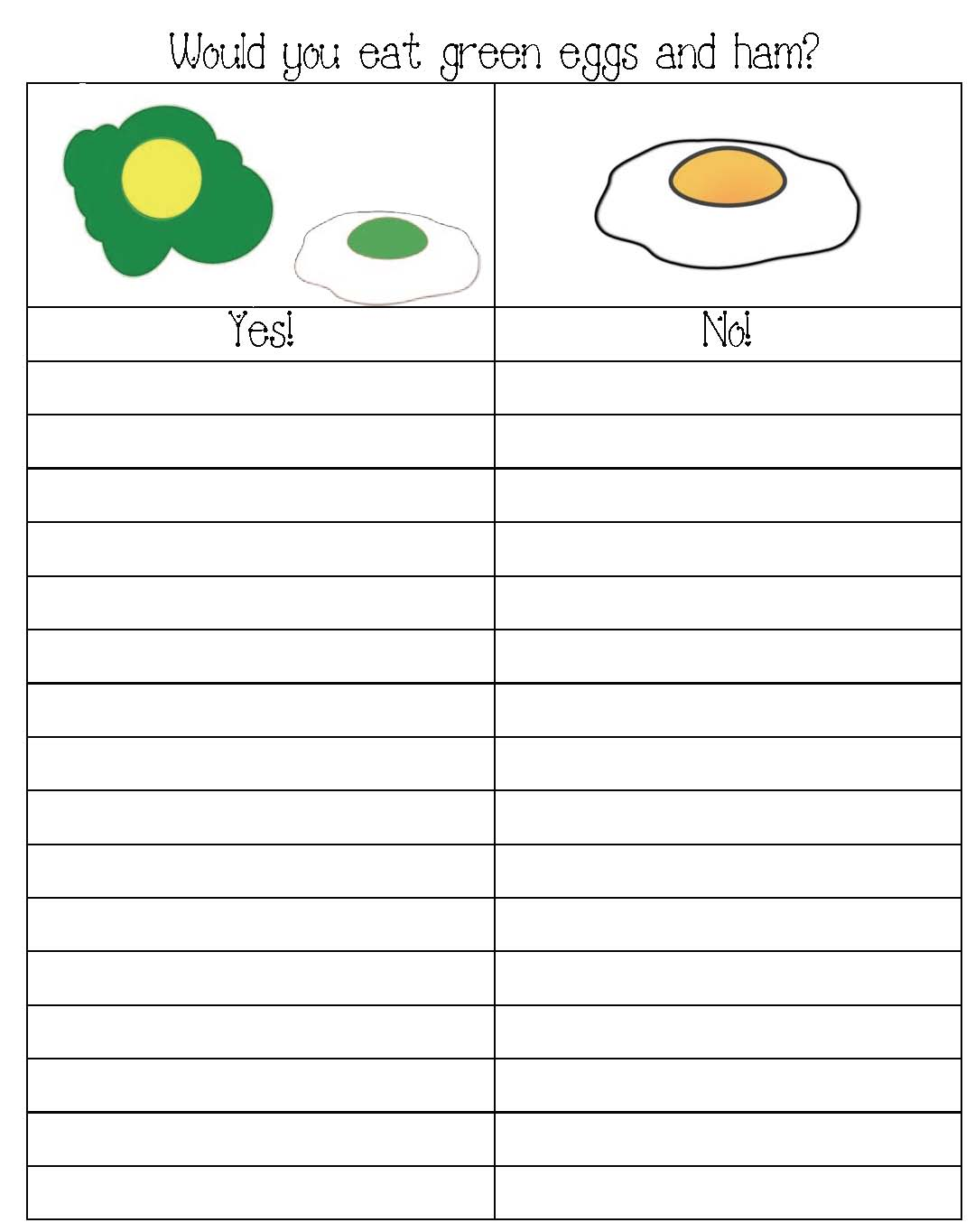green eggs and ham graph, seuss activities, shape activities, shape games, contraction activities, emergent readers, color activities, color words, color games, green eggs and ham activities, green eggs and ham games, common core seuss, seuss writing prompts, march writing prompts, seuss bulletin boards, green eggs and ham bulletin boards,  do you like green eggs graph, telling time games, telling time to the hour activities, telling digital time activities, analog time activities, color word activities, green eggs and ham games,