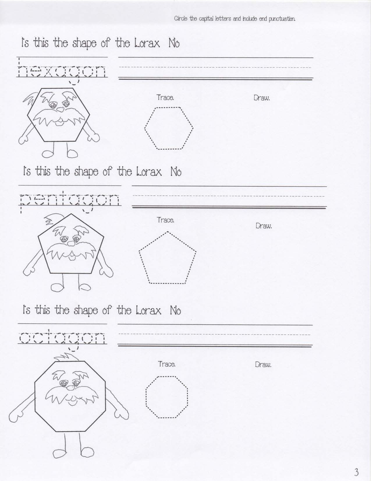 lorax activities, seuss common core, lorax writing prompts, dr seuss writing prompts, dr seuss crafts, mustache activities, common core mustache,lorax common core, shape activities, hexagon activities, 2D shape lessons, easy reader booklets, shape booklet, lorax crafts, lorax shapes, lorax lessons, seuss crafts, seuss shapes, lorax common core, march bulletin boards, seuss bulletin boards, lorax bulletin boards, spring bulletin boards,
