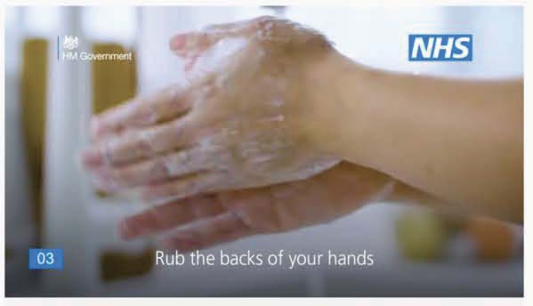 video of how to wash your hands