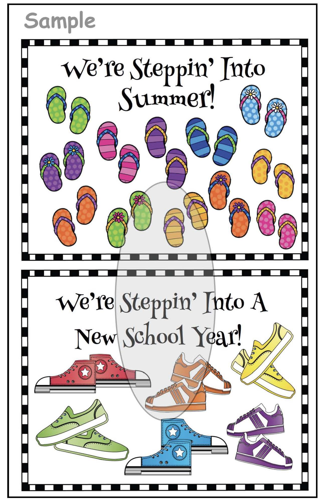 writing prompts for the end of the year,  end of the year bulletin boards, summer writing prompts, summer bulletin boards, activities for the end of the year, back to school writing prompts, back to school crafts, back to school bulletin boards, Pete the cat activities, Petes I love my white shoes crafts, Petes i love my white shoes activities