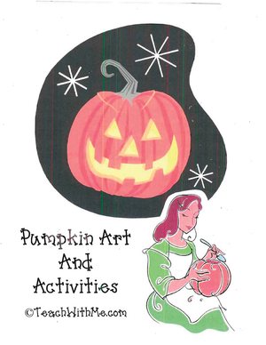 Pumpkin Art and Activity Book