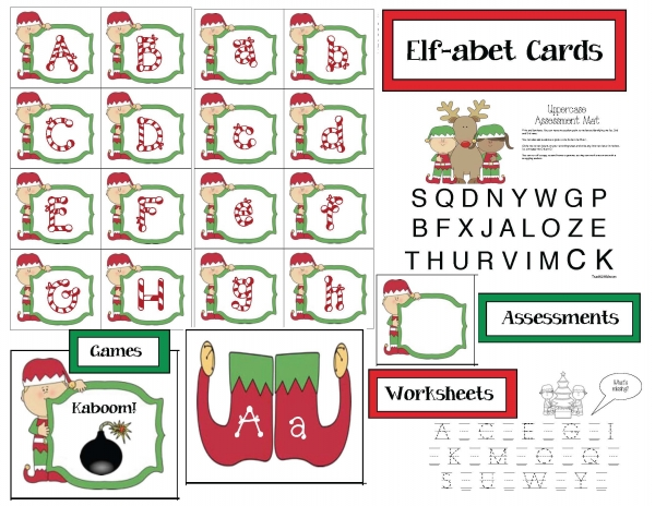 Elf-abet Cards