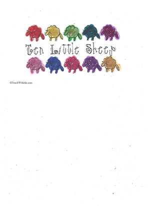 Booklet: 10 Little Sheep