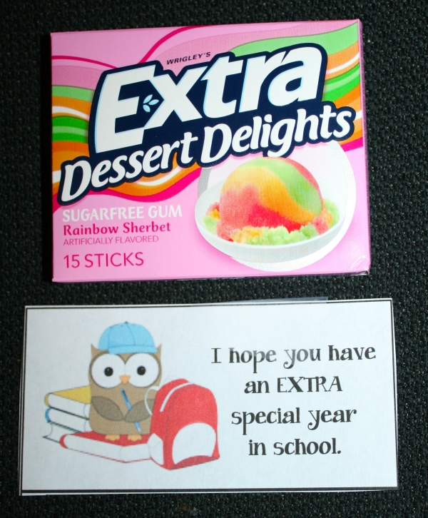 """Extra"" Special Back To School Treats"
