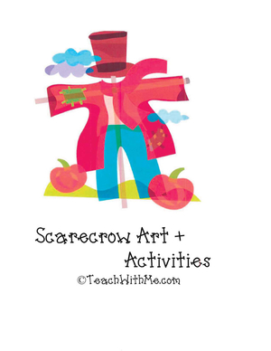 Scarecrow Art + Activity Book