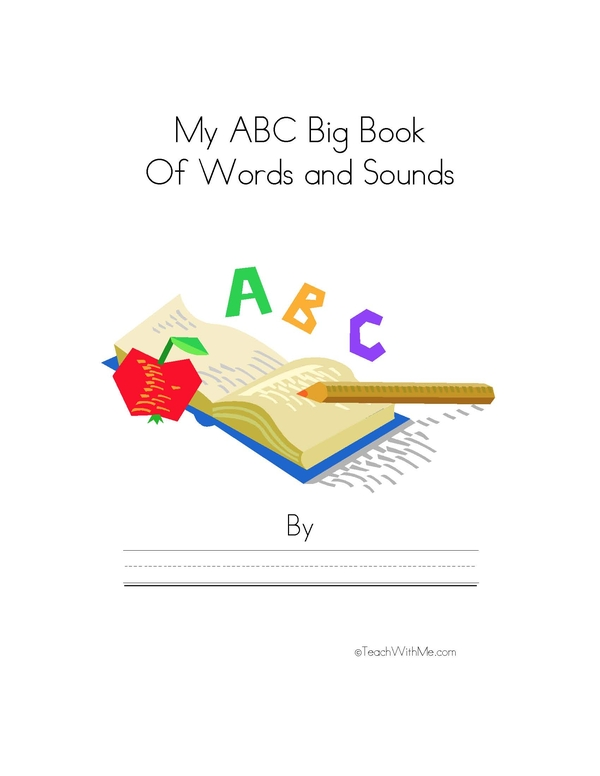 My Big Book Of Words and Sounds