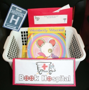 Book Hospital Basket