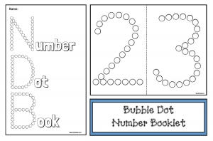 Bubble Dot Numbers