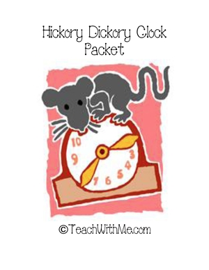 Hickory Dickory Clock Packet