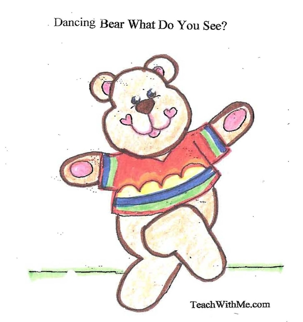 Booklet: Dancing Bear What Do You See