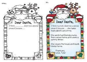 A New Twist On A Dear Santa Letter