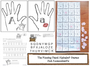 The Kissing Hand Alphabet Games Packet