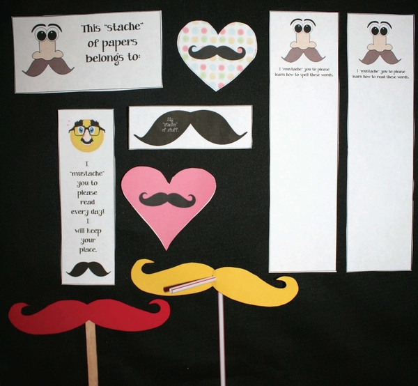 "A ""Stache"" Of Mustache Stuff"