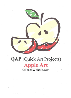 Apple Art Projects Book