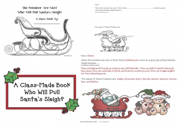 Who Will Pull Santa's Sleigh Class Book